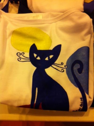 Camiseta gato