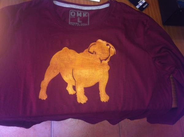 Camiseta hombre perro